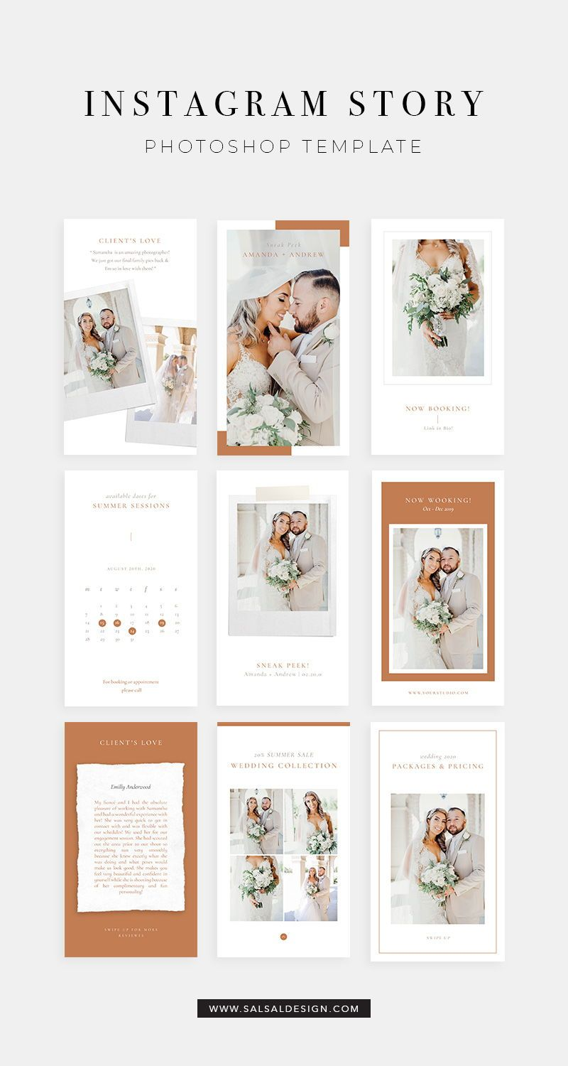 Instagram Stories Templates Story Template Instagram Template Wedding Story Template Instagram Photoshop Templates Ig014 Instagram Template Design Instagram Template Instagram Photoshop