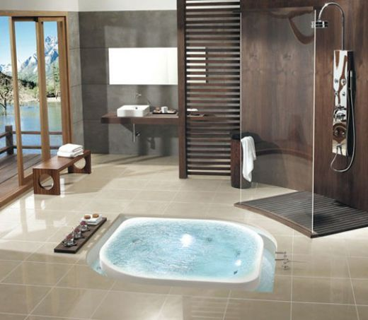 Amazing Bathroom Ideas amazing bathroom designs | hot tubs, tubs and amazing bathrooms