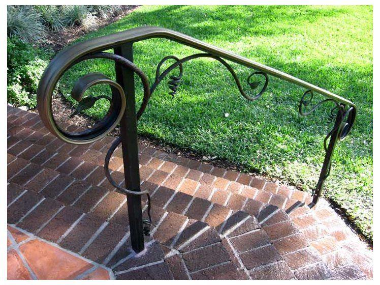 Outdoor Metal Stair Railings Handrails Railing In 2020 Railings