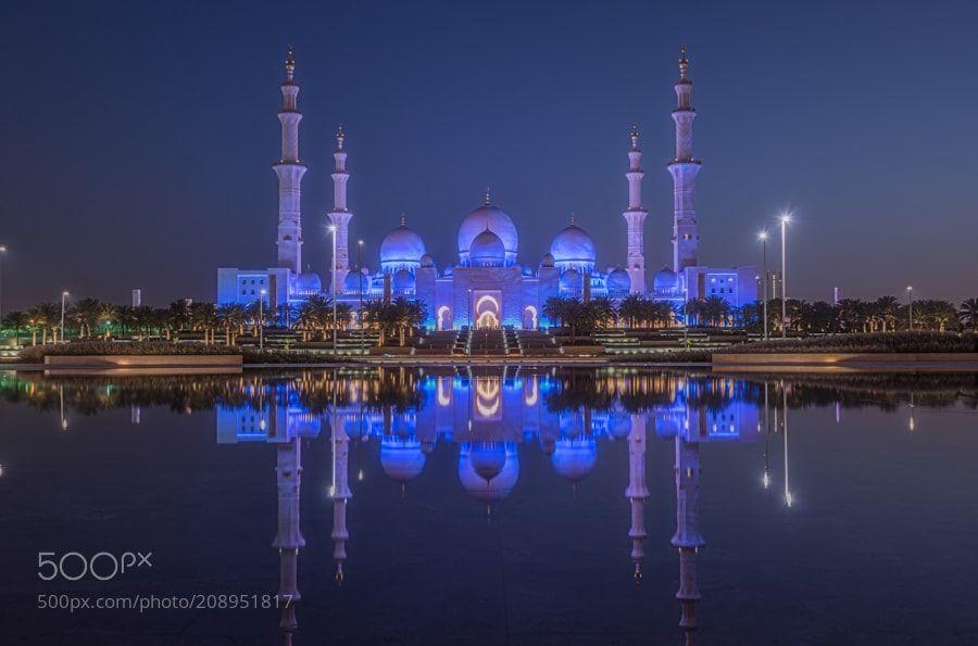 Exterior: Majestic Sheikh Zayed Grand Mosque