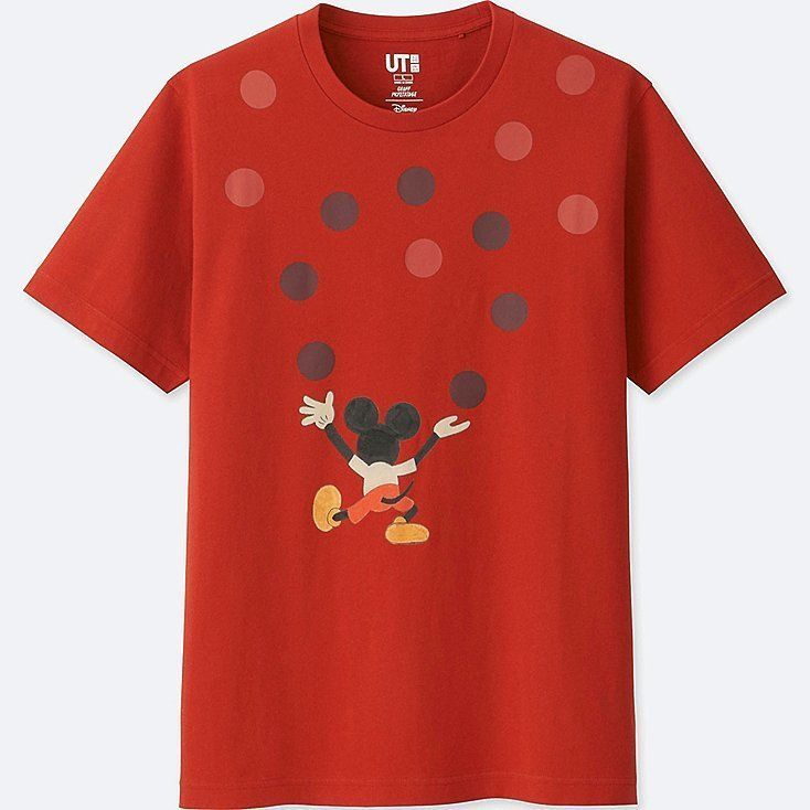 5cecd5fd70 MICKEY ART SHORT-SLEEVE GRAPHIC T-SHIRT (GEOFF MCFETRIDGE)   UNIQLO    Limited  fashion  clothing  shoes  accessories  mensclothing  shirts  ad  (ebay link)