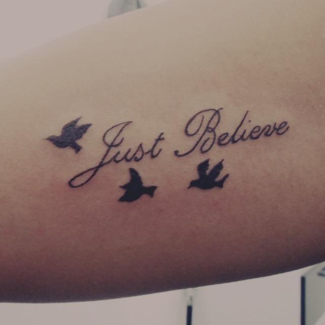 177 Best Believe Tattoo Images On Pinterest: Believe Tattoo - Pesquisa Google