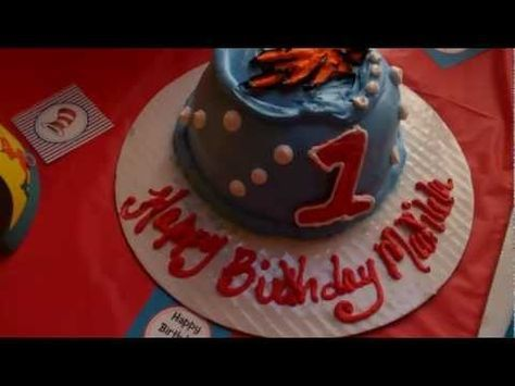 Here are some videos and pictures of Matilda's Dr Seuss 1st Birthday Party