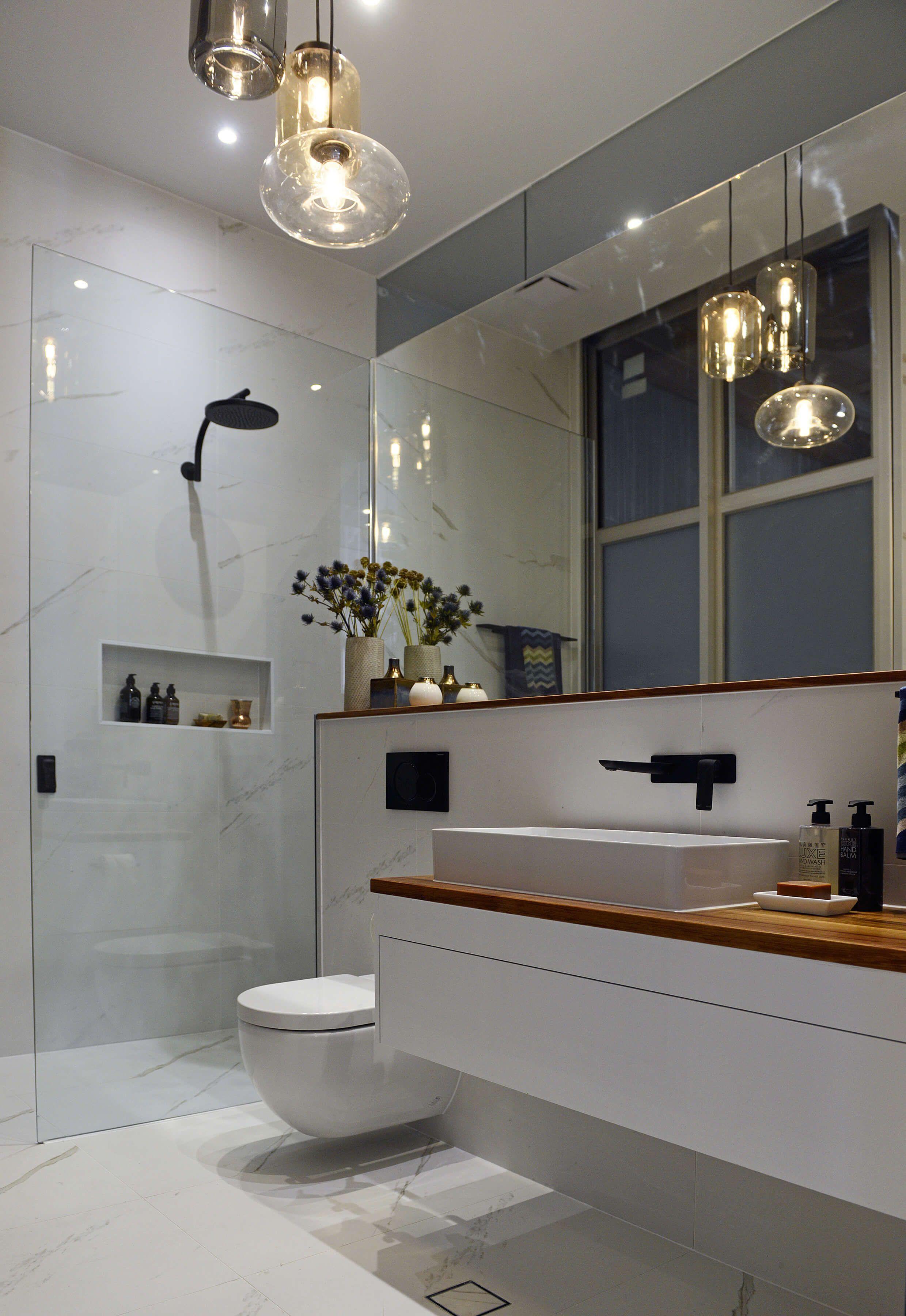 Master bedroom ensuite ideas  The Block Glasshouse Ensuite week  Bathrooms OS  Pinterest