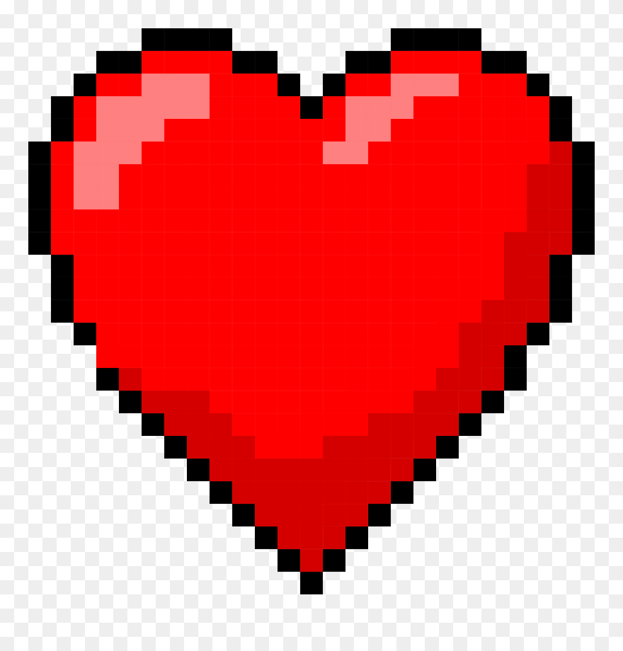 Download Hd 6 Pixel Heart Pixel Art Heart Png Clipart And Use The Free Clipart For Your Creative Project In 2021 Pixel Art Clip Art Pixel Heart