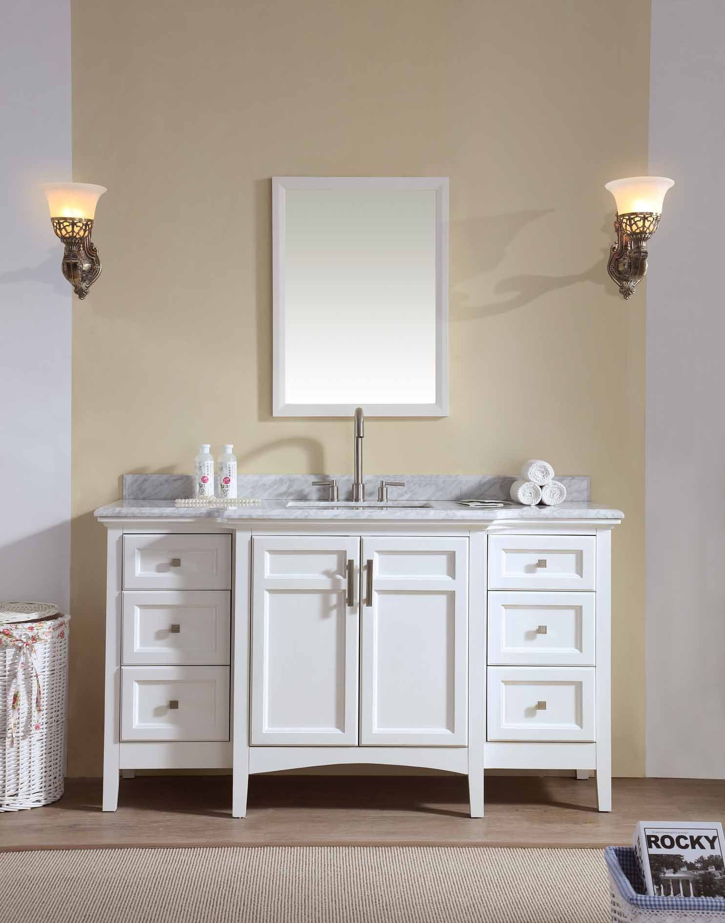 Luz 60 | Bathroom vanities, Prefab and Vanities