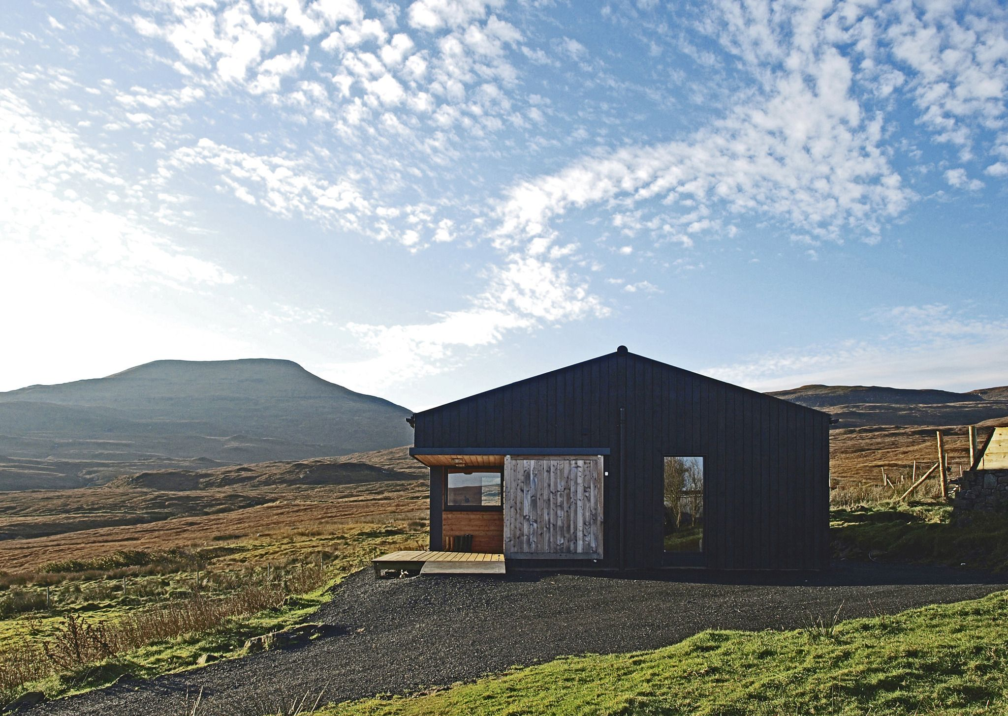 Skinidin - The Black Shed - Rural Design Architects - Isle ...