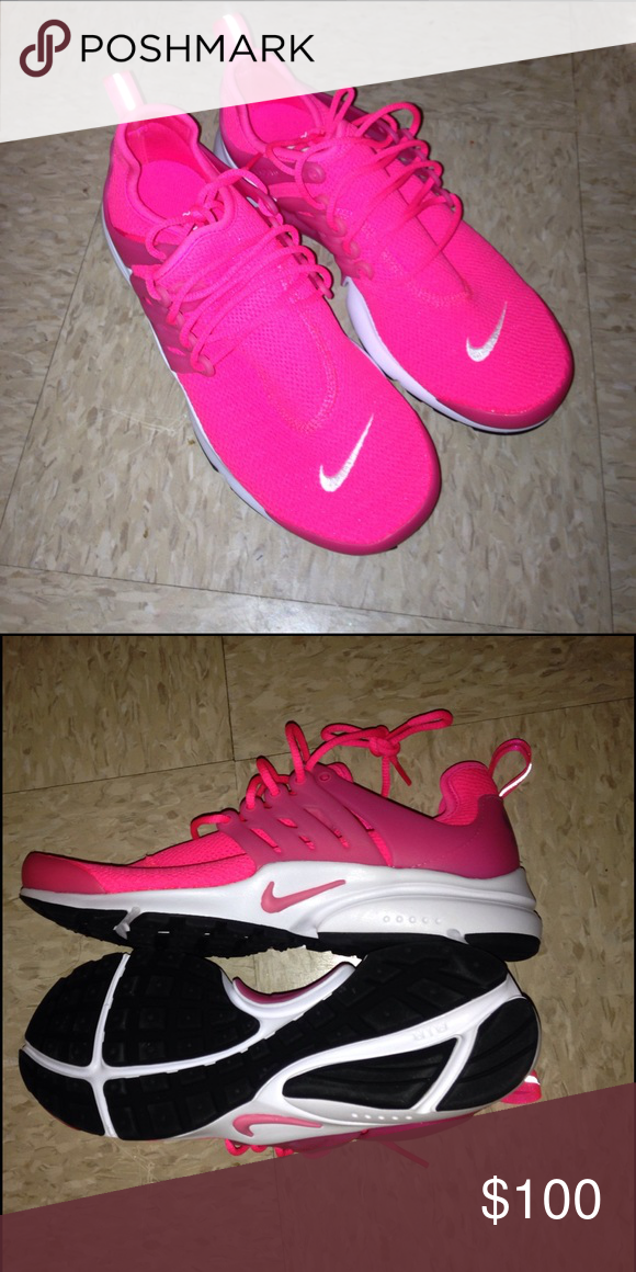 best service 0964b 6b807 Pink nike presto brand new Hot pink brand new no box ...