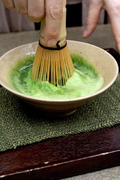 Japanese green tea - Matcha.