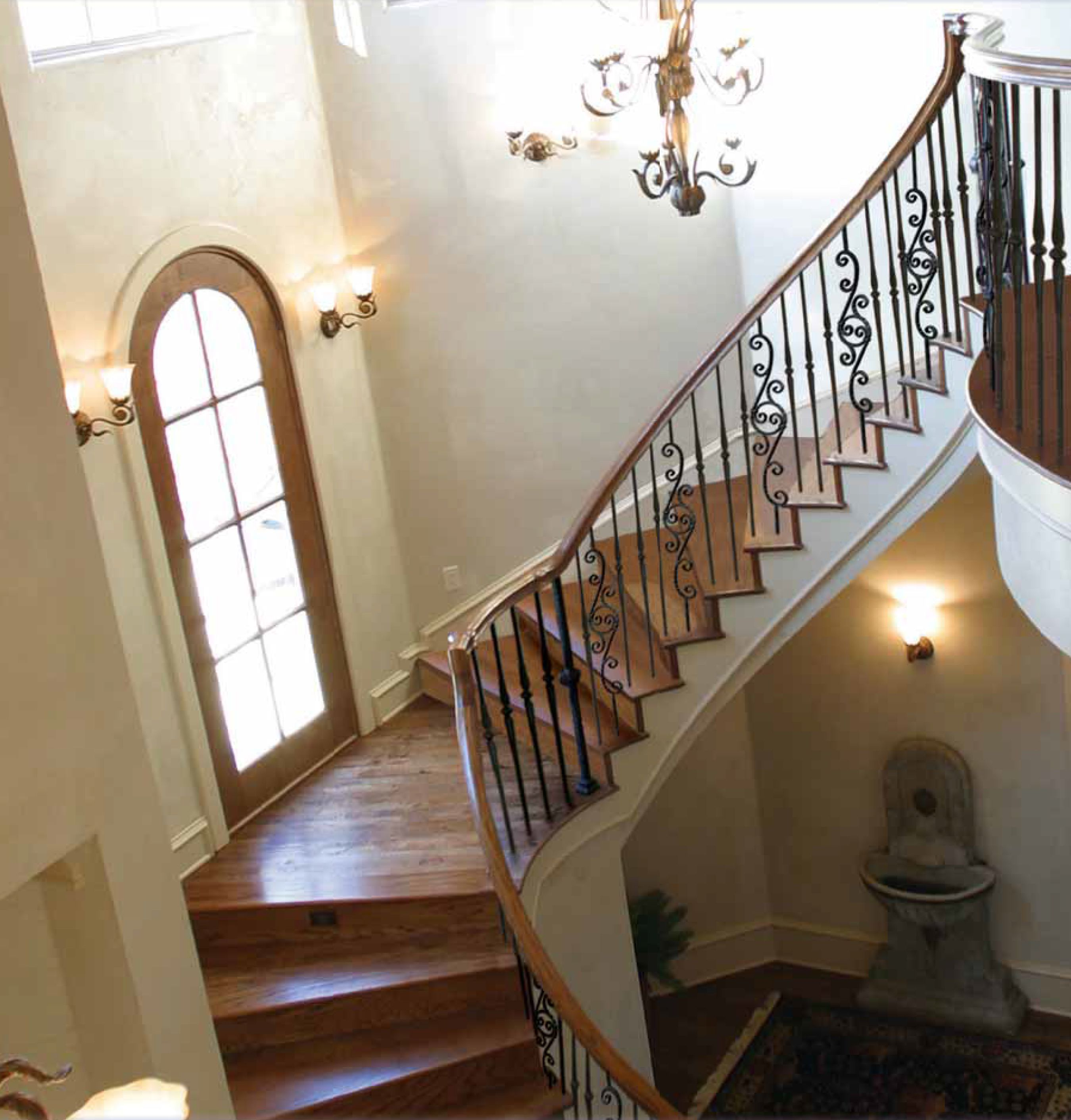 wrought iron spindle with interesting wrought iron.htm our powder coated balusters in application www indital com  our powder coated balusters in