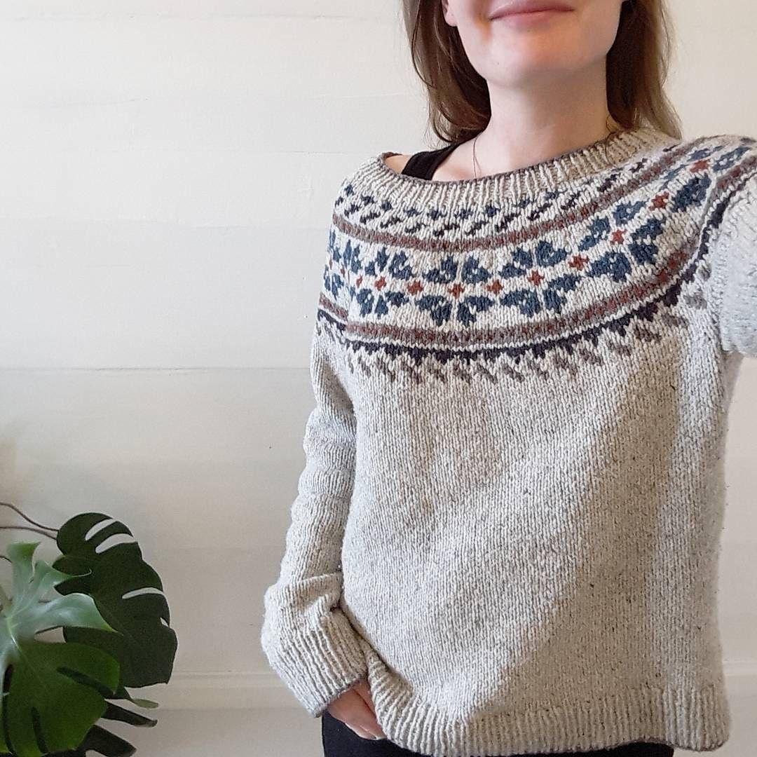 Ravelry: girlnamedsandoz\'s snowflower | knitted fair isle + nordic ...