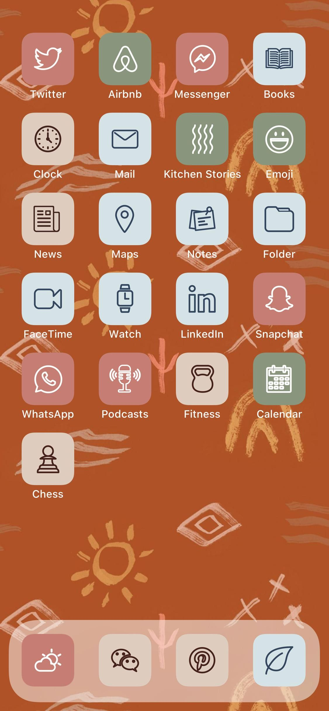 2 000 Boho Aesthetic Ios 14 App Icons Pack Natural Pastel Elegant Theme For Iphone And Iphone Home Screen Shortcuts App Covers Bundle App Icon App Covers Printable Calendar
