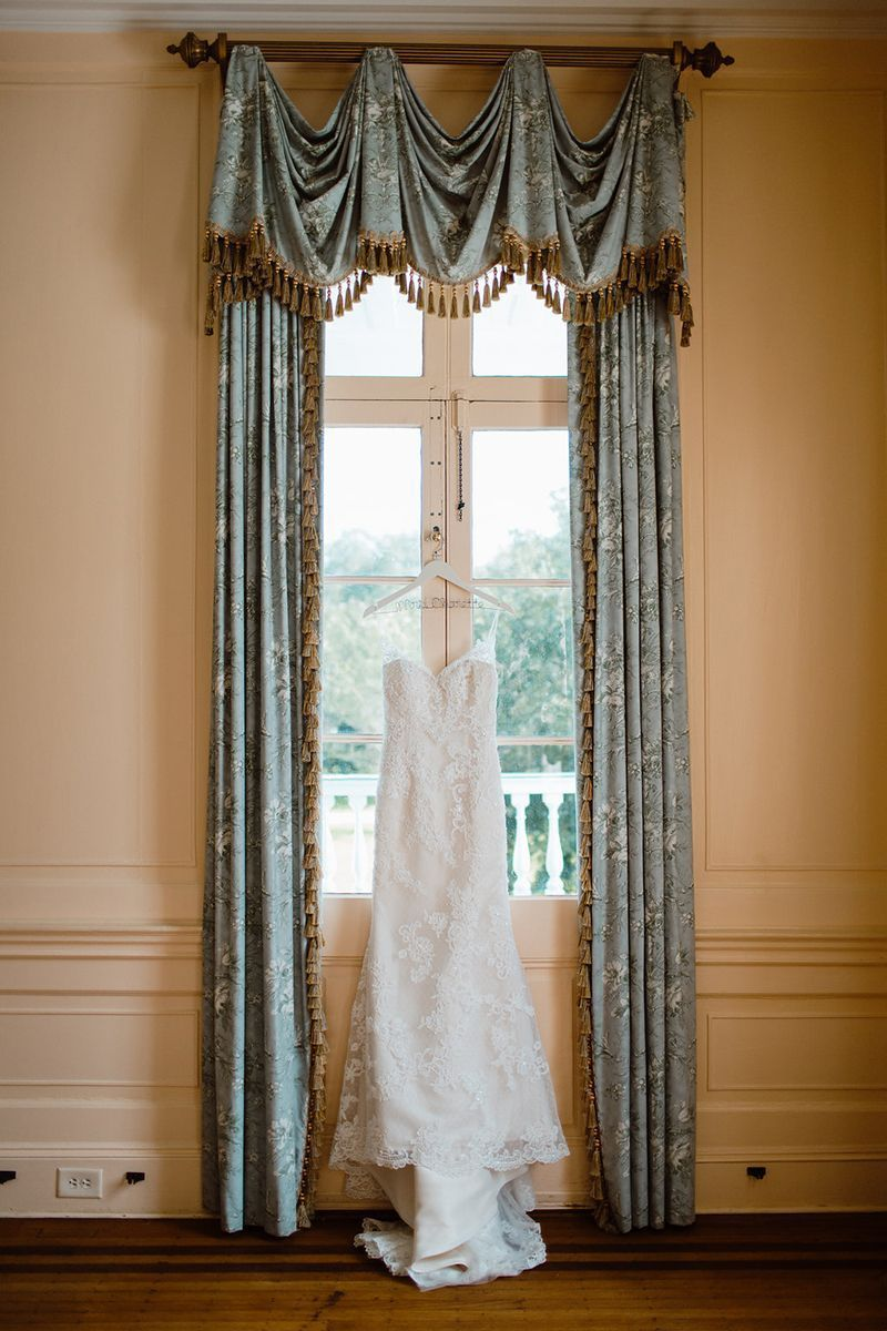 Southern Classic Light Blue Gold Wedding Style 1975 By Casablanca