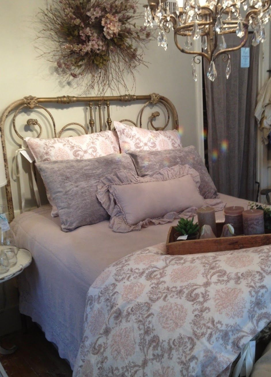 Bed Of The Month Is A Feature We Re Absolutely Crazy About Every Month Our Stores Submit A Bev Country Cottage Bedroom Shabby Chic Bedrooms Country Bedroom