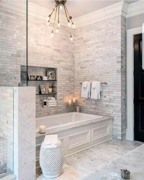top 60 best bathtub tile ideas wall surround designs on best bathroom renovation ideas get your dream bathroom id=22666