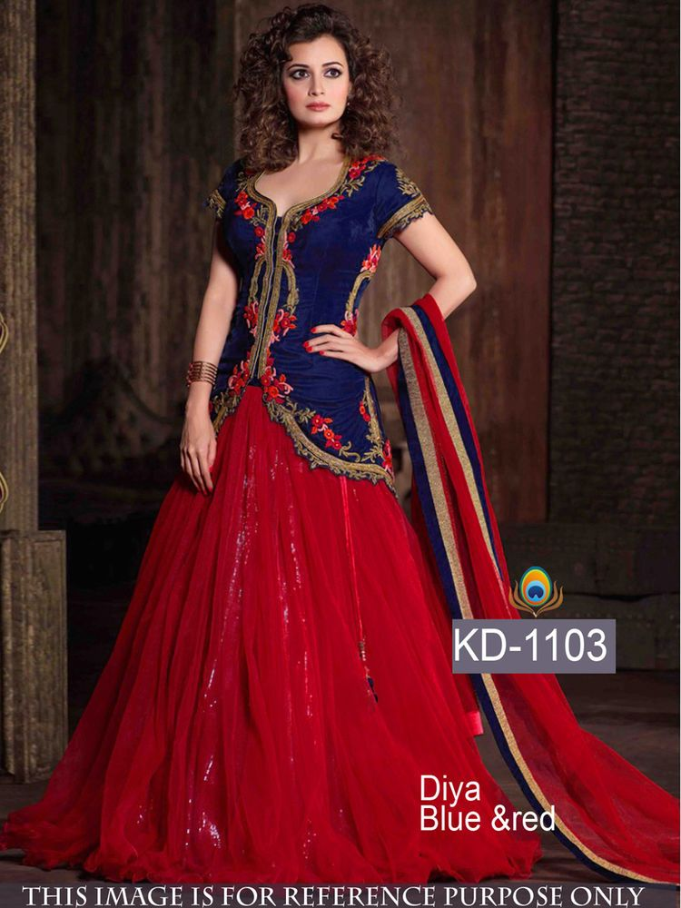 New Designer Bollywood Replica Ethnic Wear Dress Evening Gown Party ...