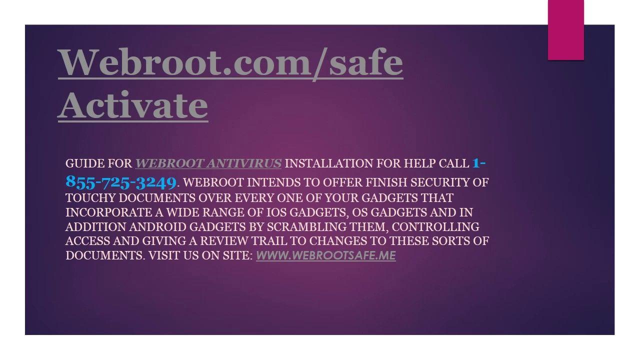 Webroot Keycode Activation   Install Webroot Setup - www