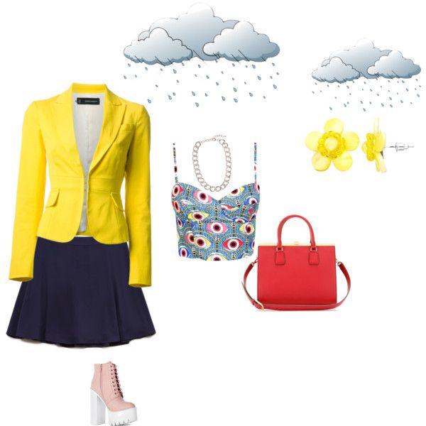 Colores brillantes para día lluvioso