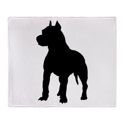 American Pitbull Silhouette Terrier Gifts Clipart Free Clip Art Images Pitbull Silhouette Art Images Art