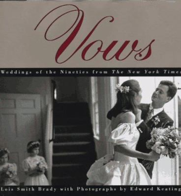 Over The Last Five Years Vows On The Sunday New York Times Wedding Pages Has Become One Of The Papers Most Popu Wedding Planning Book Vows Wedding Columns