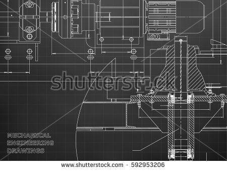 Engineering backgrounds mechanical engineering drawings technical engineering backgrounds mechanical engineering drawings technical design blueprints black grid malvernweather Images