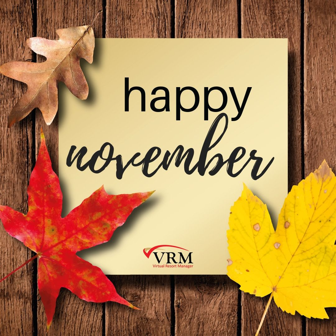 We wish you a delightful November! Happy november
