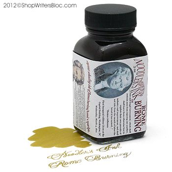 Rome Burning. Noodler's: Another similar to Diamine Golden Brown and Iroshizuku Ina-ho (Rice Ear),