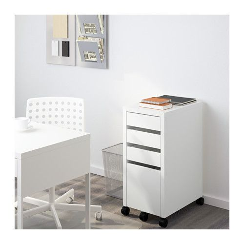 Micke Drawer Unit Drop File Storage White 13 3 4x29 1 2 Ikea Drawer Unit Ikea Micke Ikea Drawers