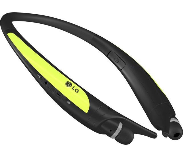 LG - Tone Active Wireless Stereo Headset - Lime. Key Specs Brand Compatibility Universal Model Compatibility Universal Maximum Talk Time 14 hours Warranty Parts 1 year limited Labor 90 days Feature Rechargeable Battery Yes Stand-By Time 19 days Compatibility Bluetooth Version 4.1 General Earpiece Type Stereo Color Category Green Dimension Height 5.51 inches Width 5.55 inches Depth 0.63 inches Weight 1.76 ounces Other UPC 874305007930