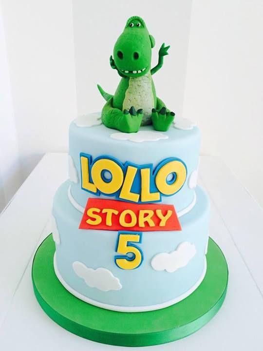 Toy story dinosaur cake pixar cakes pinterest dinosaur cake toy story and dinosaurs - Dinosaure toy story ...