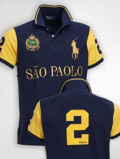 df7cab6a0d5ad Ralph Lauren Sao Paolo NO.2 Polo Shirt Navy http   www.
