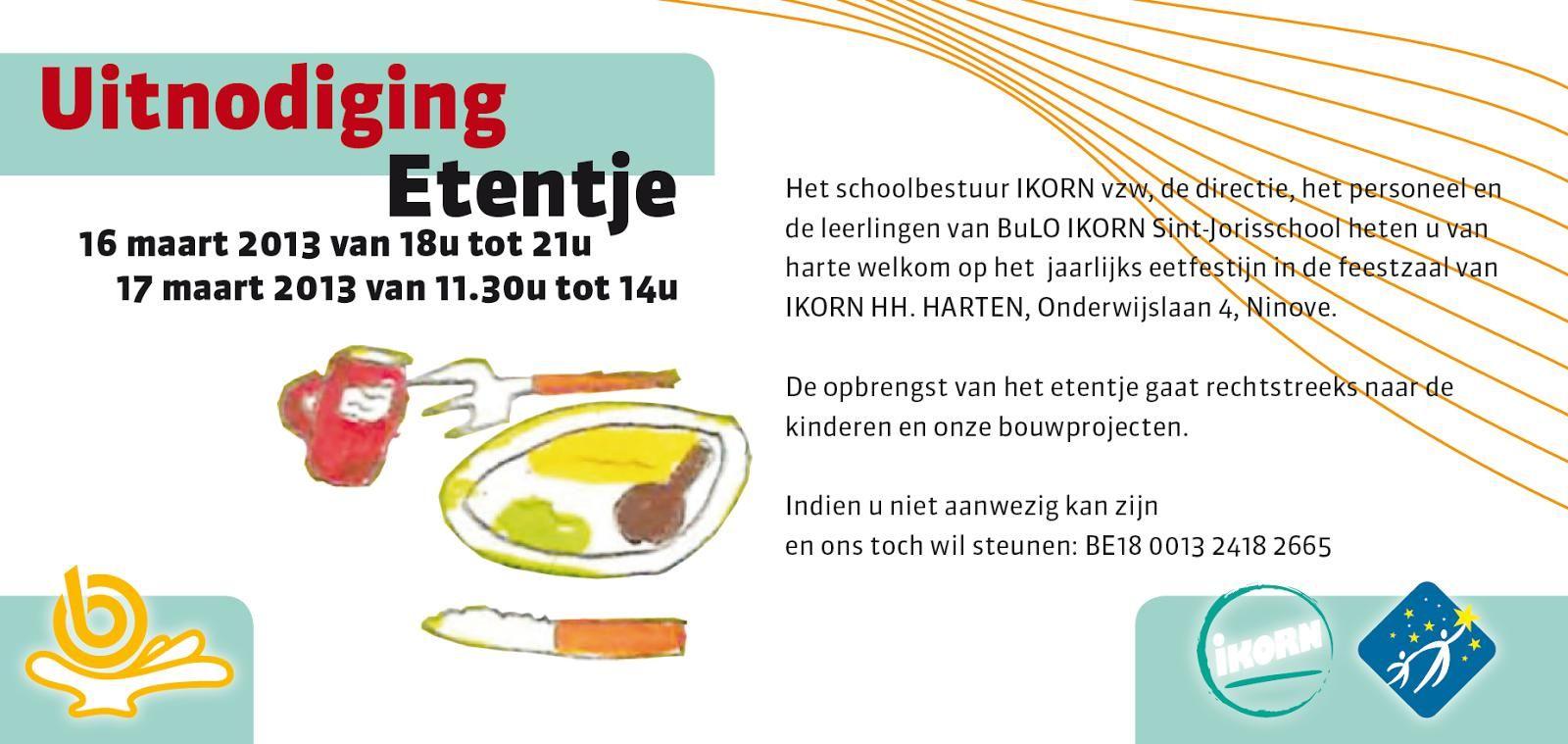 Populair Uitnodiging Etentje : Uitnodiging Etentje Collega's  HH74