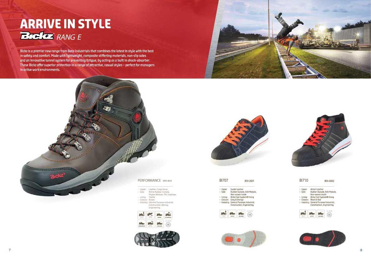 Image result for BATA INDUSTRIALS FOOTWEAR BROCHURE | Dan