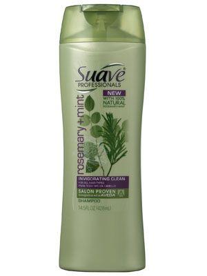 Suave Rosemary Mint Invigorating Clean Shampoo Review Suave
