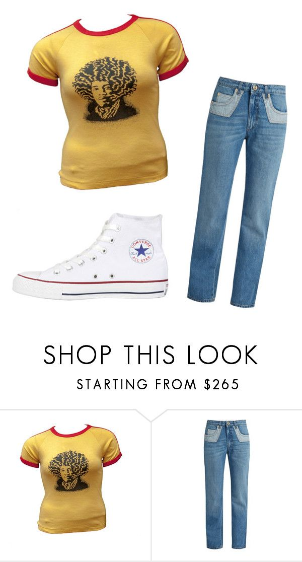 """1960's time-traveler"" by joshlerisreal on Polyvore featuring Sonia Rykiel and Converse"