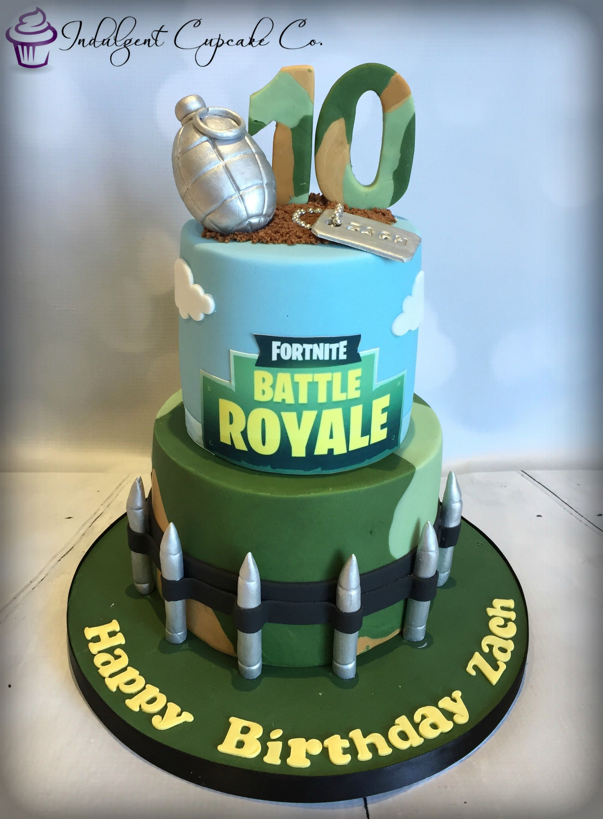 Phenomenal 2 Tier Fortnite Cake With Images Novelty Cakes Sport Funny Birthday Cards Online Hendilapandamsfinfo