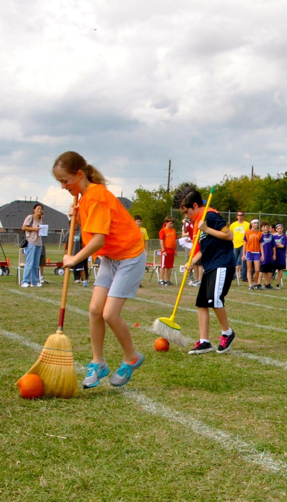 Pumpkin Sweep Race! DUMC Bazaar and Fall Festival Ideas