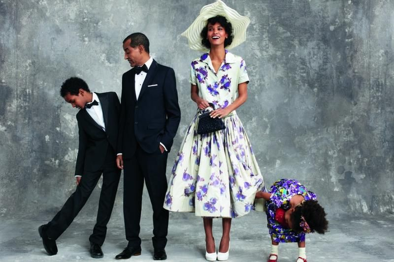 Model Moms and Their Children in Vogue | Vogue, African