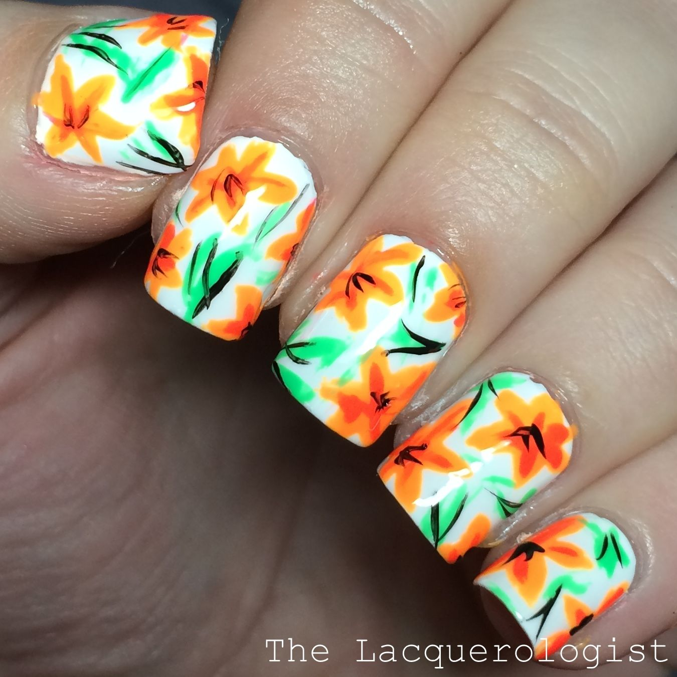 Tiger lily nails pinterest tiger lily prinsesfo Image collections