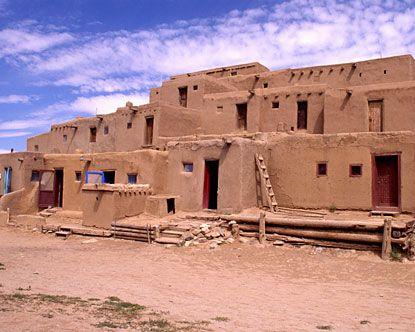 Taos Pueblo Puebo De Taos New Mexico Taos New Mexico Taos Pueblo New Mexico