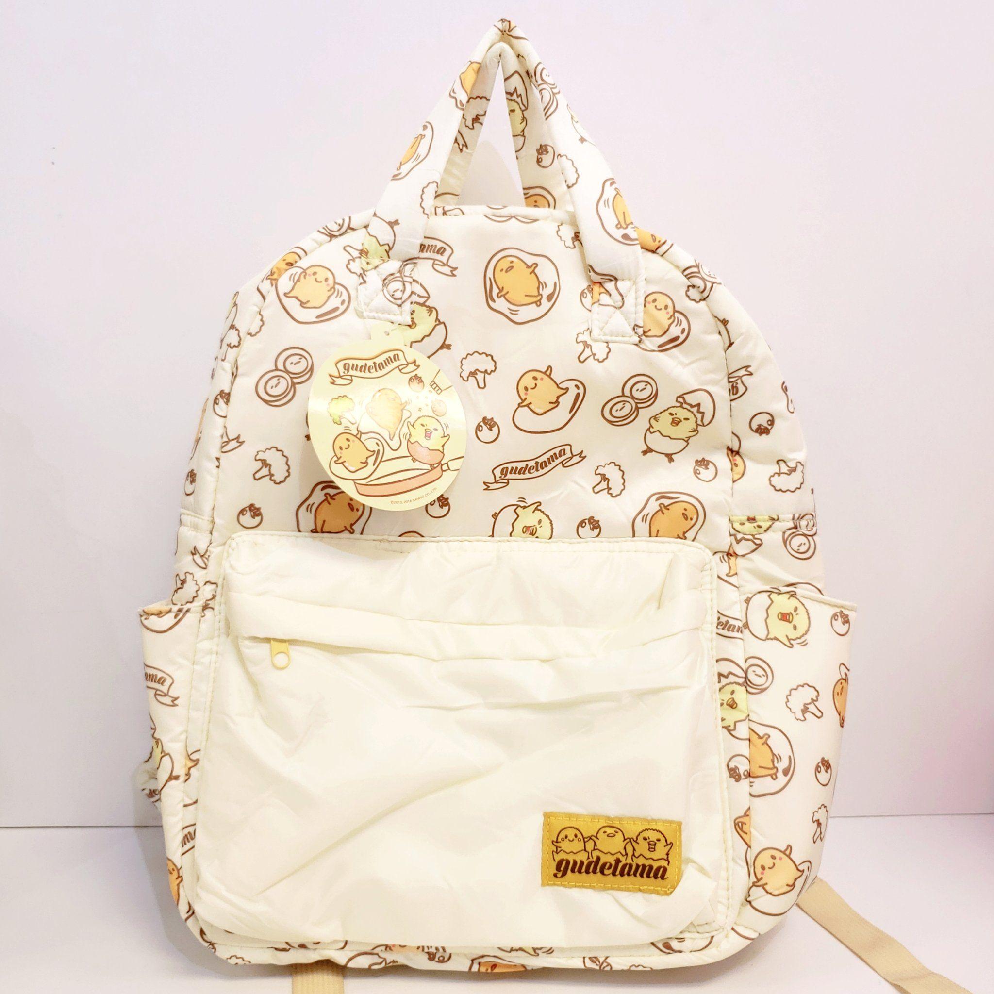 Gudetama Friends Backpack In 2020 Bags Backpacks Bags For Teens