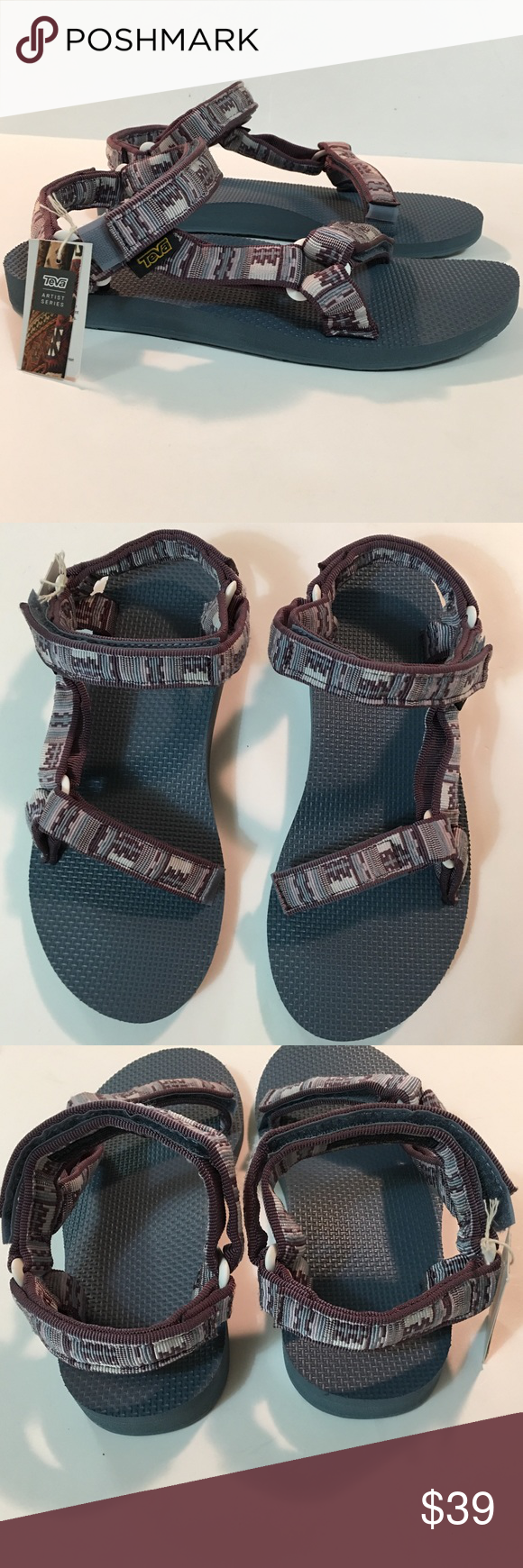 b6721981a Teva Womens Original Universal Sandal Inca Plum Slight snag shown in  picture otherwise excellent condition. Teva Womens Original Universal Sport Sandal  Inca ...