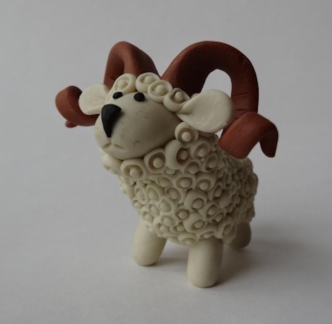 Cómo Hacer Una Oveja Para El Belén Con Pasta De Modelar Pasta Para Modelar Material Para Manualidades Animales De Arcilla Polimérica