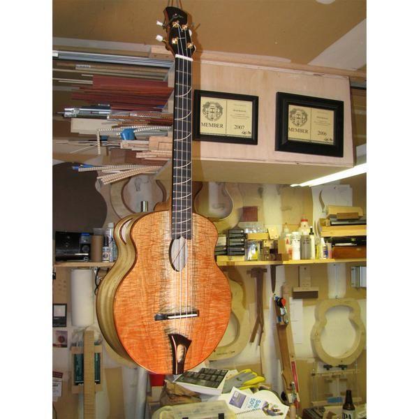 Big Bottom Myrtle Baritone Ukulele Or Octave Mandoline