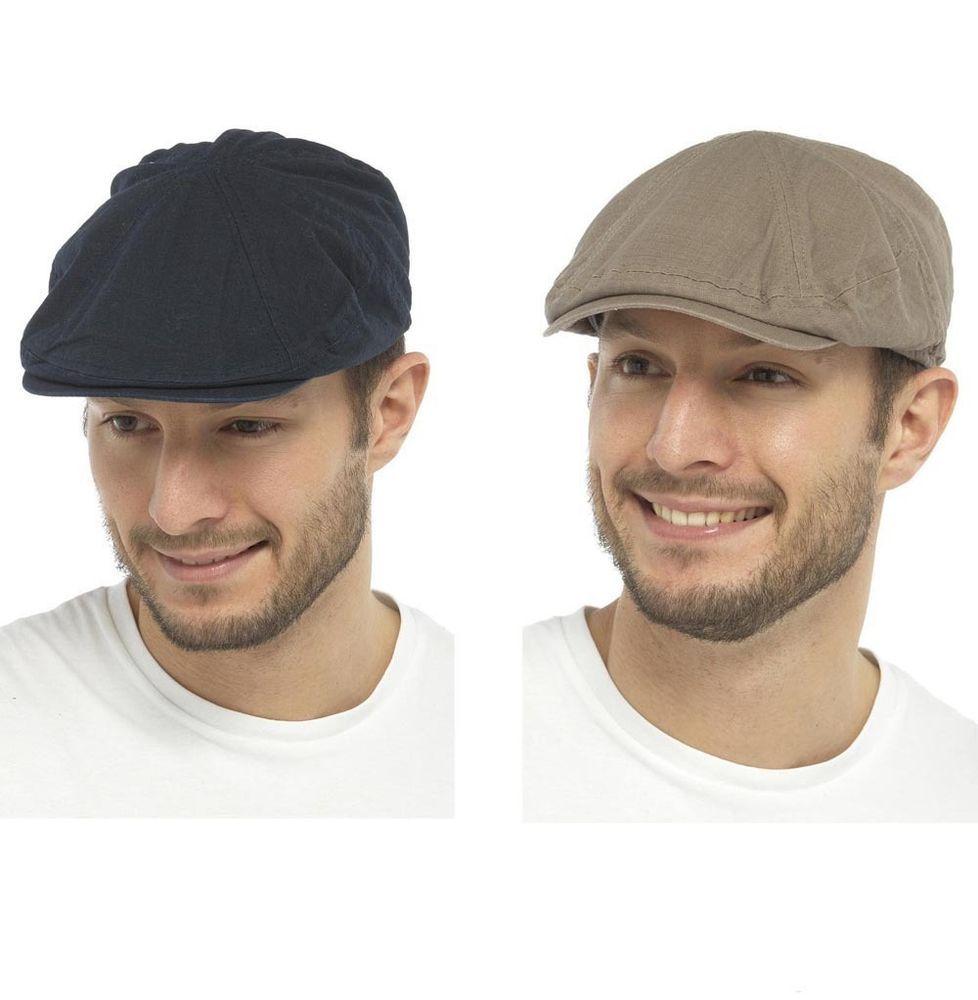 b69e3d1d61f Mens cotton linen flat cap summer by tom franks