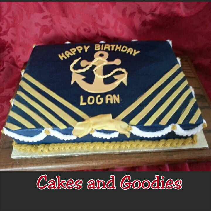 marines cake happy birthday logan