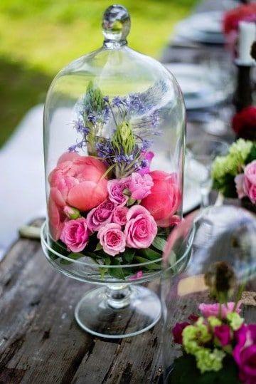 como hacer arreglos de flores naturales para aos