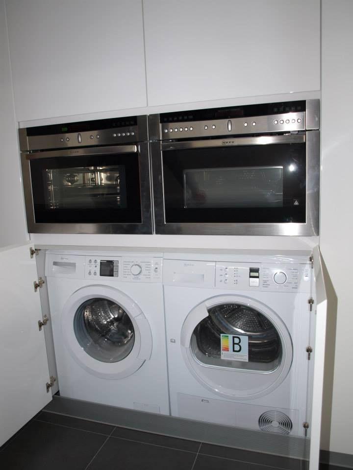M ximo aprovechamiento del espacio en esta cocina debajo - Horno microondas pequeno ...