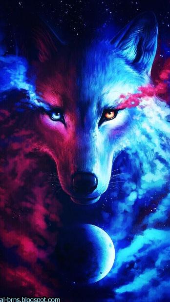 صور جميله افضل خلفيات للهواتف الذكية خلفيات روعه جدا Light In The Dark Galaxy Wolf Wolf Spirit Animal