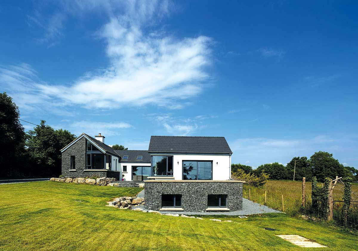 Icf Build In County Roscommon House Designs Ireland Sloping Lot House Plan Irish House Plans
